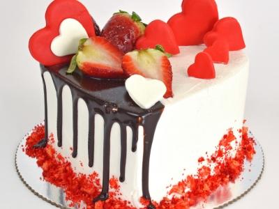 Torta ljubavna adresa
